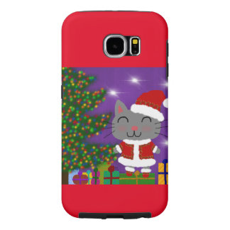 Meowy Christmas Samsung Galaxy S6 Cases