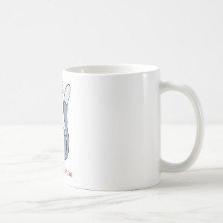Meowy Christmas Santa Cat Basic White Mug