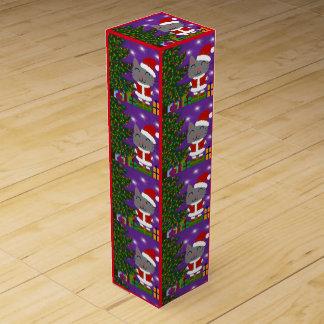 Meowy Christmas Wine Box
