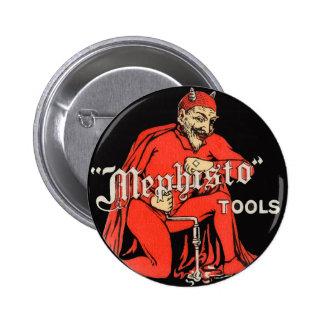 Mephisto Tools 6 Cm Round Badge