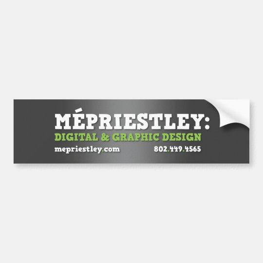 MEPriestley Bumper Sticker
