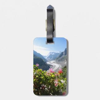 Mer de Glace - Chamonix France Luggage Tag