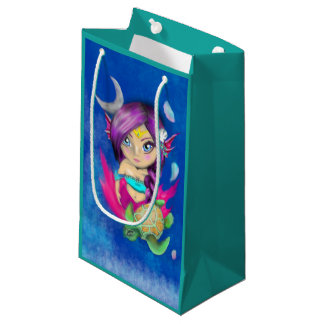 Mer Turtle Bella Small Gift Bag