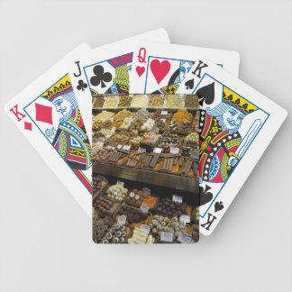 Mercat de Sant Josep, assorted chocolate candy Bicycle Playing Cards