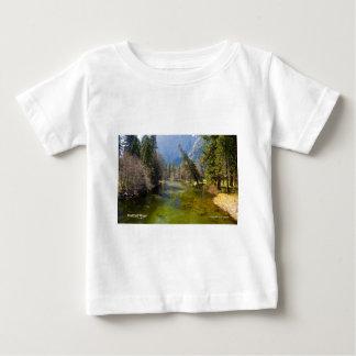 Merced River April Foliage Yosemite California T Shirt