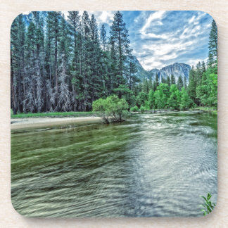 Merced River View Drink Coaster