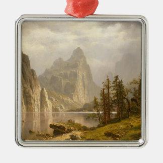 Merced River, Yosemite Valley Christmas Ornament