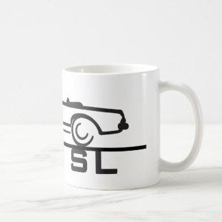 Mercedes 230 SL Type 113 Basic White Mug