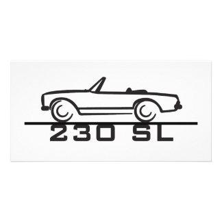 Mercedes 230 SL Type 113 Photo Greeting Card