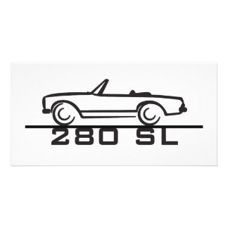 Mercedes 280 SL Type 113 Customized Photo Card