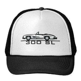 Mercedes 300 SL Cabrio Mesh Hats