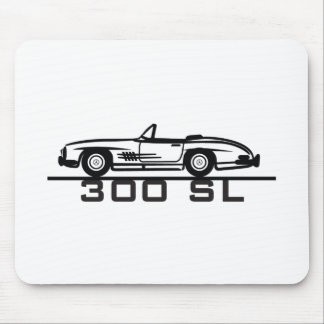 Mercedes 300 SL Cabrio Mousepads