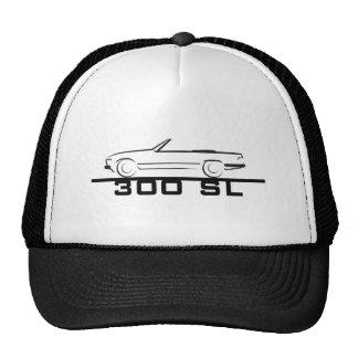 Mercedes 300 SL Type 107 Mesh Hats