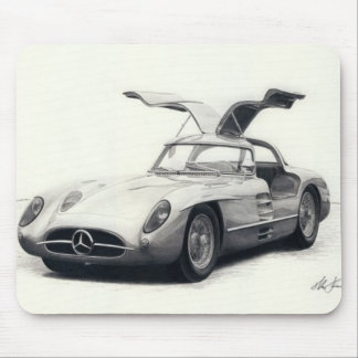 Mercedes 300SLR coupe Mousepads