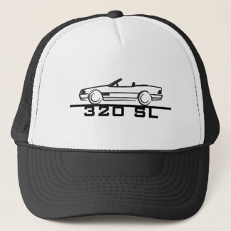 Mercedes 320 SL Type 129 Trucker Hat