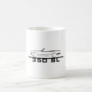 Mercedes 350 SL Type 107 Basic White Mug