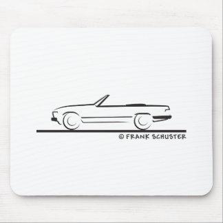 Mercedes 450 SL Type 107 Mousepads