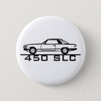 Mercedes 450 SLC 107 6 Cm Round Badge