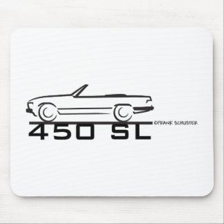 Mercedes 450SL Mouse Pads