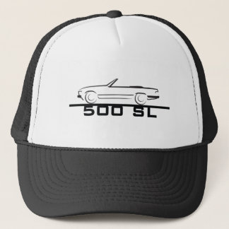 Mercedes 500 SL Type 107 Trucker Hat
