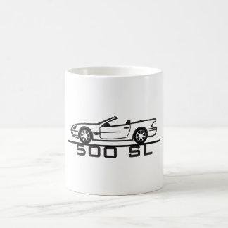 Mercedes 500 SL Type 230 Basic White Mug