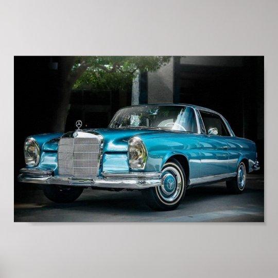 Mercedes Benz 250 SE 1966 Poster