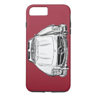 Mercedes Benz 300 SL Convertible Car Illustration iPhone 7 Plus Case