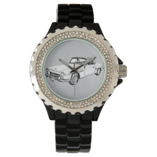 Mercedes Benz 300 sl Illustration Watch
