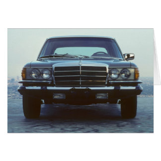 Mercedes Benz 450SEL Greeting Card