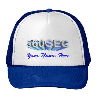 Mercedes Benz 560SEC Cap Trucker Hats