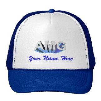 Mercedes Benz AMG Cap Mesh Hats