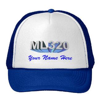 Mercedes Benz ML320 Cap Trucker Hats