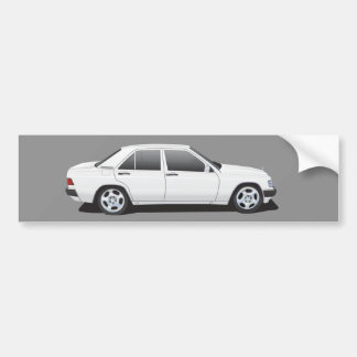 Mercedes-Benz W201 (190) Bumper Sticker