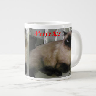 Mercedes Cat Coffee Mug Jumbo Mug
