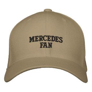 MERCEDES FAN EMBROIDERED BASEBALL CAP