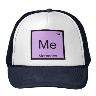 Mercedes Name Chemistry Element Periodic Table Cap