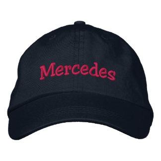 Mercedes Name Embroidered Baseball Cap