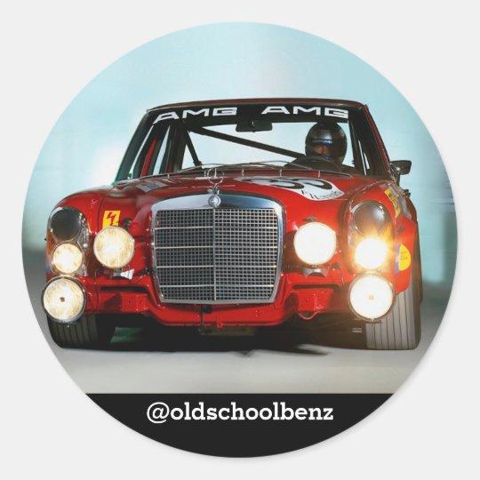 Mercedes Reg Pig sticker