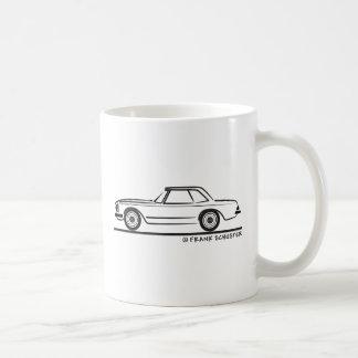 Mercedes SL Pagoda Hardtop Basic White Mug