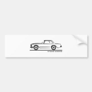 Mercedes SL Pagoda Hardtop Bumper Sticker