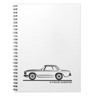 Mercedes SL Pagoda Hardtop Notebook