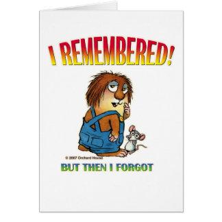 Mercer Mayer s Little Critter Card