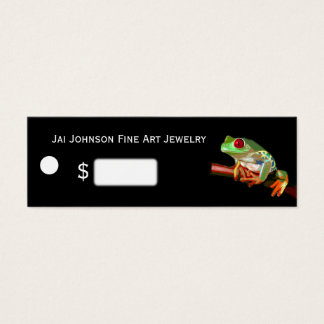 Merchandise Price Tags (Tree Frog)