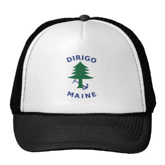 Merchant and Marine Flag of Maine Cap