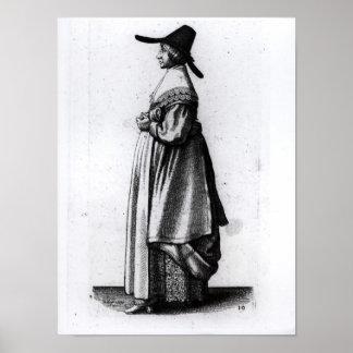 Merchant's Wife, 1640 Poster