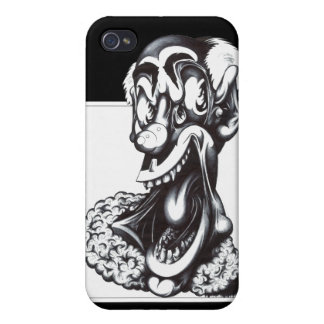 Merci the Clown iPhone 4/4S Cover