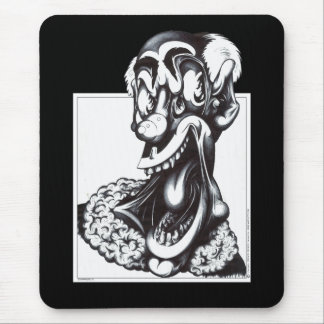 Merci the Clown Mouse Pad