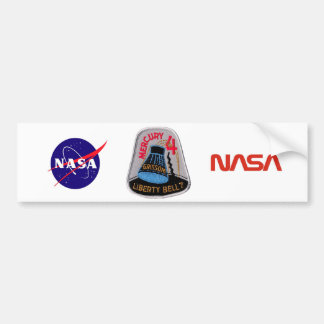 Mercury 4 Liberty Bell 7 Gus Grissom Bumper Sticker