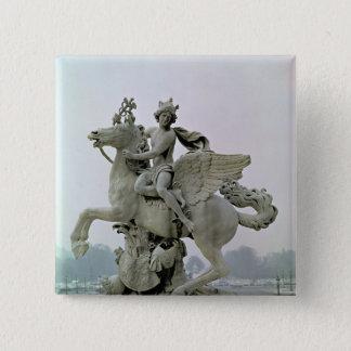 Mercury on Pegasus  1701-02 15 Cm Square Badge