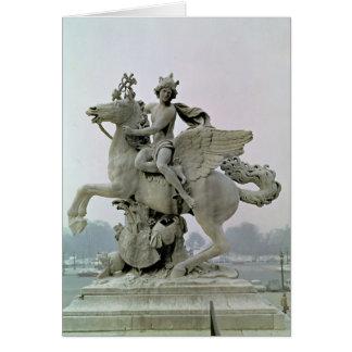 Mercury on Pegasus  1701-02 Card